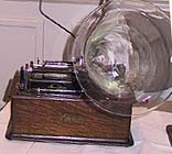 glass phonograph horn