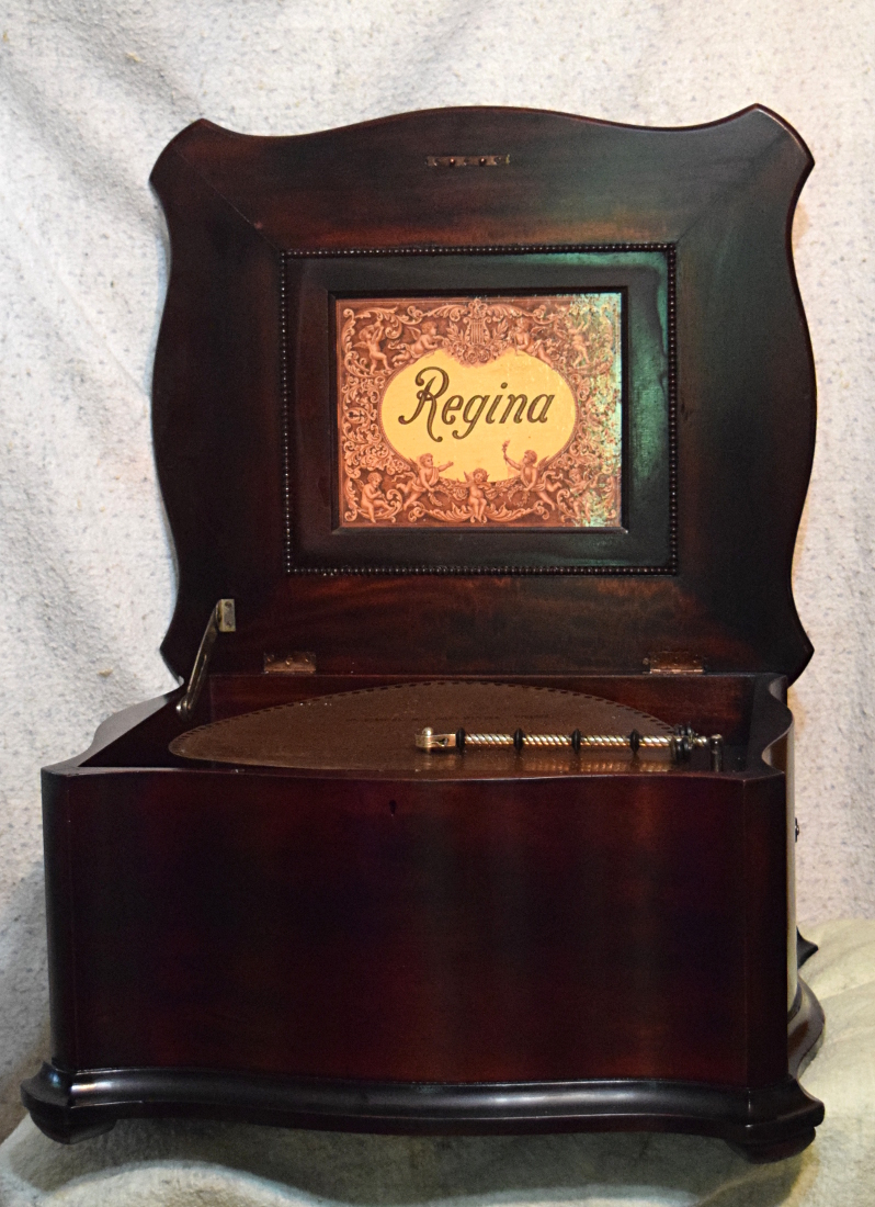 15.5 inch Regina music box, short bedplate, for sale