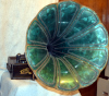an image of Edison Home Phonograph - Combination - Green