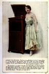 an image of Edison postcard Christine Miller