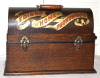 an image of Edison Home Phonograph, Red Banner Suitcase