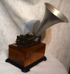 an image of French cylinder phonograph - Maleville