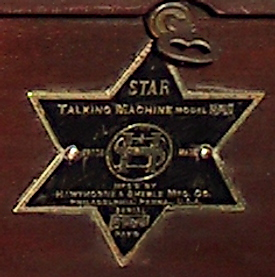 Hawthorne and Sheble Star nameplate