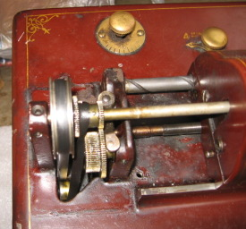 Amberola I gear train