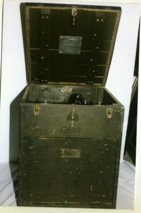 Edison Army Navy phonograph, Army version