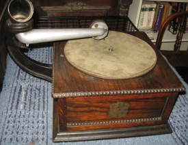 Columbia Graphophone Type BN side view