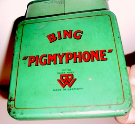 Bing Pigmyphone, top