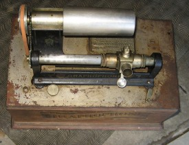 Columbia Graphophone Type AN top view
