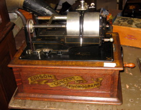 Edison Concert Phonograph, second version