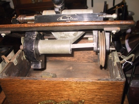 Edison shaving machine motor