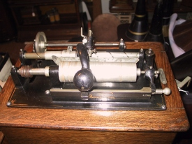 Edison shaving machine upperworks